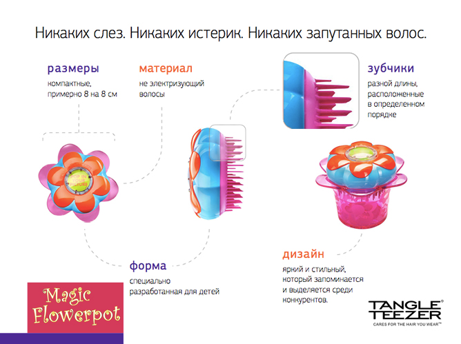 Rascheska Tangle Teezer Magic Flowerpot